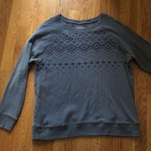 Eddie Bauer sweatshirt sweater